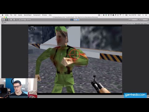 Partial Remake for Study: N64 GoldenEye in Unity