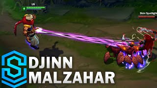 Djinn Malzahar Skin Spotlight - League of Legends