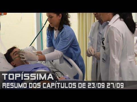 Topíssima - Resumo dos Capítulos de 23 a 27 de setembro de 2019