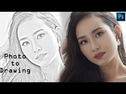 Transform Photos to Realistic Pencil Drawings - Photoshop Tutorial thumbnail