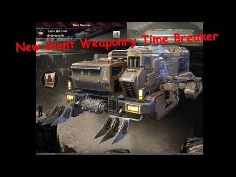 Last Empire War Z New Giant Weaponry Time Breaker