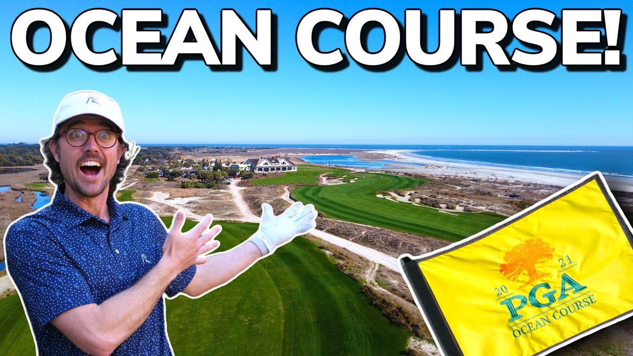 Playing KIAWAH ISLAND Ocean Course From The Tips!! Home of 2021 PGA Championship (Part 1)