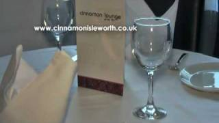 Cinnamon Lounge Indian Restaurant, Bar & Lounge, Isleworth, London Borough of Hounslow