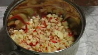 Ніжна яблучна начинка для пиріжків / Нежная яблочная начинка для пирожков