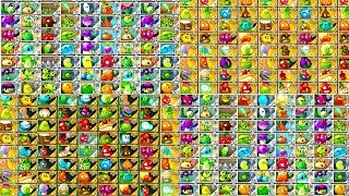 Plants vs Zombies 2 All Plants and Zombies Power UP Mega Compilation Video PVZ 2