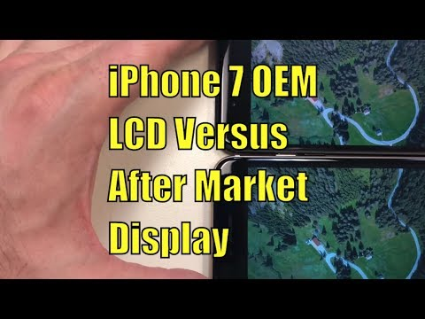 The Difference Between OEM and Aftermarket iPhone 7 LCDs