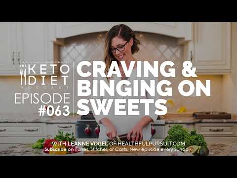 #063 The Keto Diet Podcast: Craving & Binging on Sweets