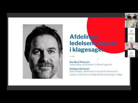 DASEM Årsmøde 2021 - Dan Brun Petersen - Afdelingsledelsens ansvar i klagesager