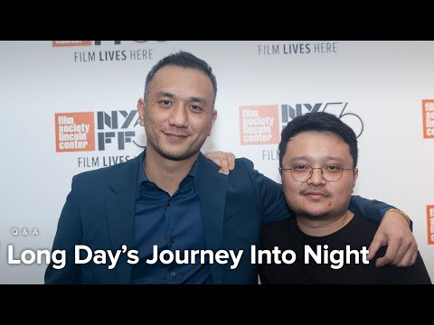 Bi Gan & Huang Jue On Long Day's Journey Into Night, Poetry, And Preparation  | NYFF56