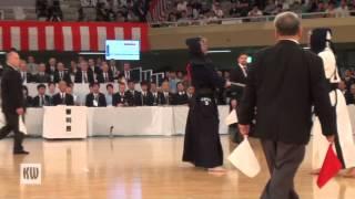 16th World Kendo Championships - Men's team — Final — match 3