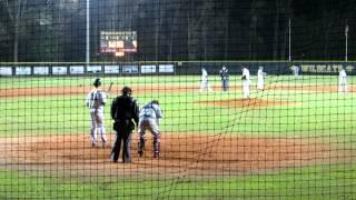 Josh Andrews baseball Lightning Game 02/22/2012
