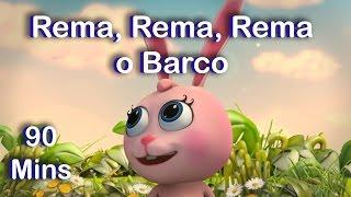 Rema, Rema, Rema o Barco   Row Row Row your Boat in Portuguese