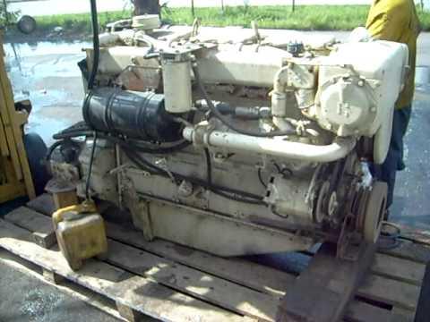 Cummins 855NT Marine engine 250-300 HP overhaul
