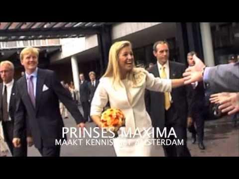 PRINSES MAXIMA MAAKT KENNIS MET AMSTERDAM ( 10-09-2001)
