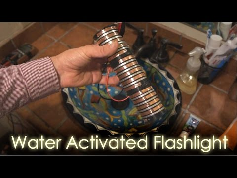 How To Build A Water Activated Flashlight