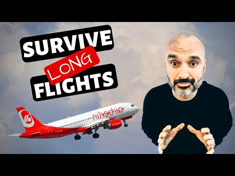 6 Tips for Surviving Long Flights ✈️ How to Survive a Long Flight Travel Tips