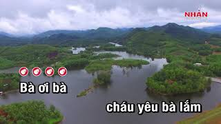 Cháu Yêu Bà Karaoke Beat - Nhạc Thiếu Nhi