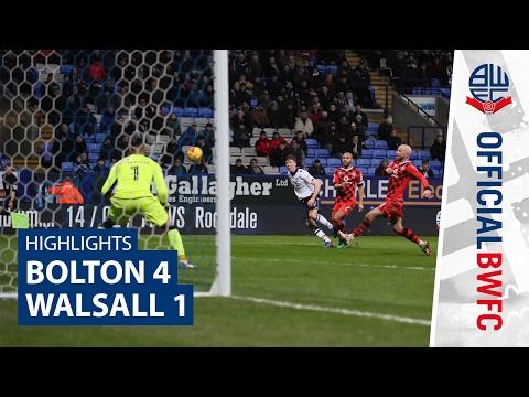 HIGHLIGHTS | Bolton 4-1 Walsall