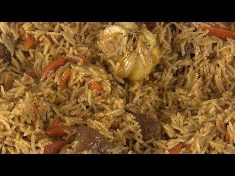 Как приготовить рассыпчатый плов из свинины в казане