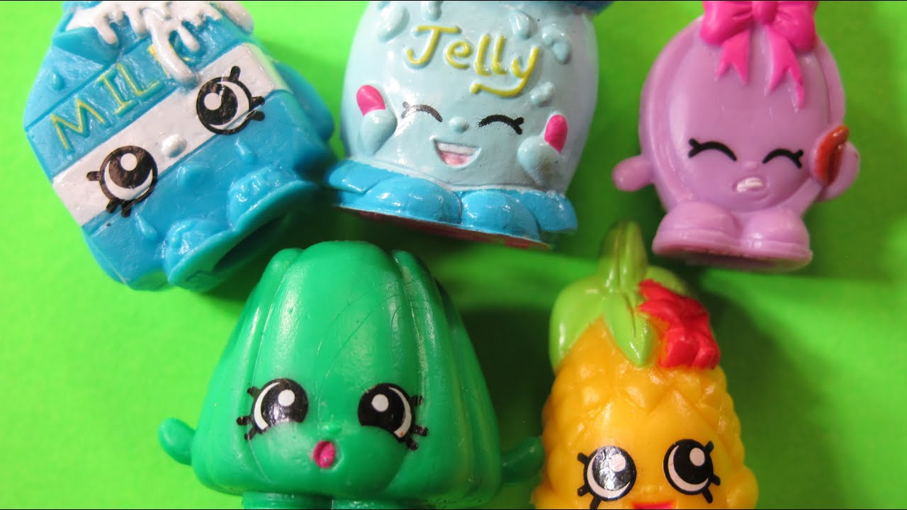 Shopkins 5 Pack With Hidden Shopkin Opening YouTube