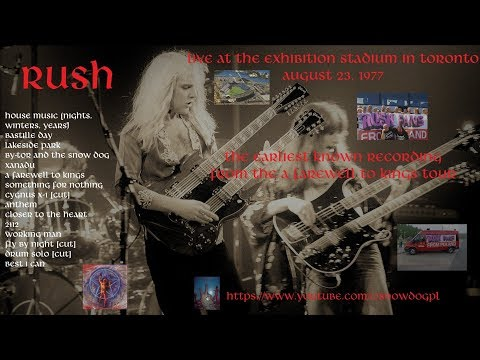 RUSH - Pictures At The Exhibition Stadium - 1977/08/23 - Toronto, CAN - A Farewell To Kings Tour