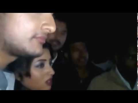 Kandile Odia heroine Riya krying & khyama...