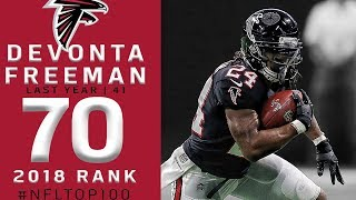 #70: Devonta Freeman (RB, Falcons) | Top 100 Players of 2018 | NFL