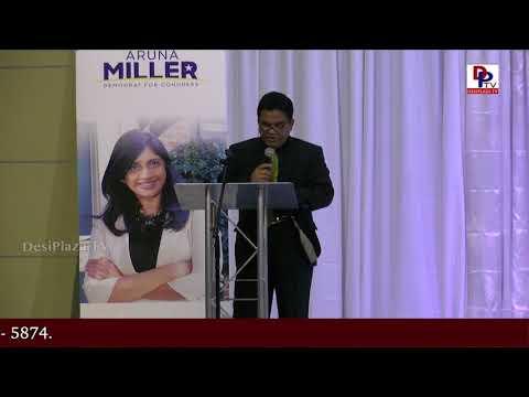 Charan Reddy Full Speech at DFW Indian Community - Honoring Aruna Miller || DesiplazaTV || Irving