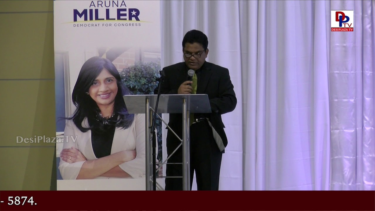 Charan Reddy Full Speech at DFW Indian Community - Honoring Aruna Miller || DesiplazaTV || Irving