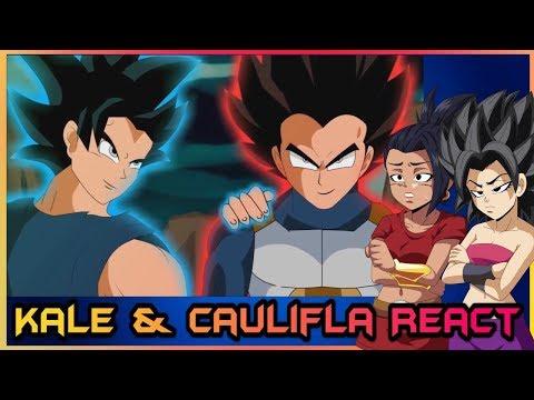 Kale and Caulifla React to Vegeta Gets Ultra Instinct (Dragon Ball Super Parody)
