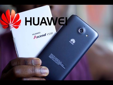 Huawei Ascend Y550 64 Bit Smart Phone Unboxing And First Impressions