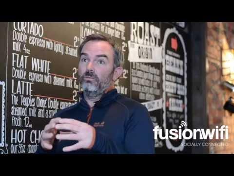 Social WiFi by Fusion WiFi - Coffee Saloon Testimonial