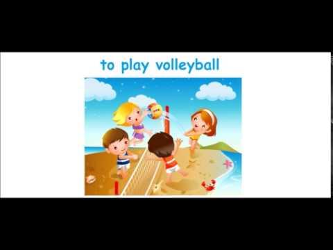 Видео урок.Английский для детей.Урок 12.Спорт и игры