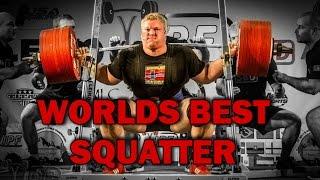 490 kg squat WORLD RECORD - Carl Yngvar Christensen - Heaviest IPF squat