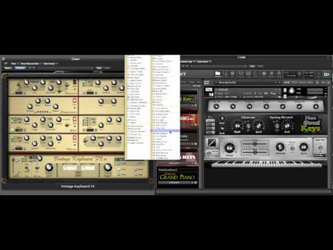 Neo-Soul Keys Xtreme Package Deal with VKFX Vintage Keyboard Effects Suite