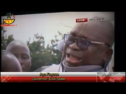 Buhari Led APC Government Want To Kill Me Fayose Cries Out.