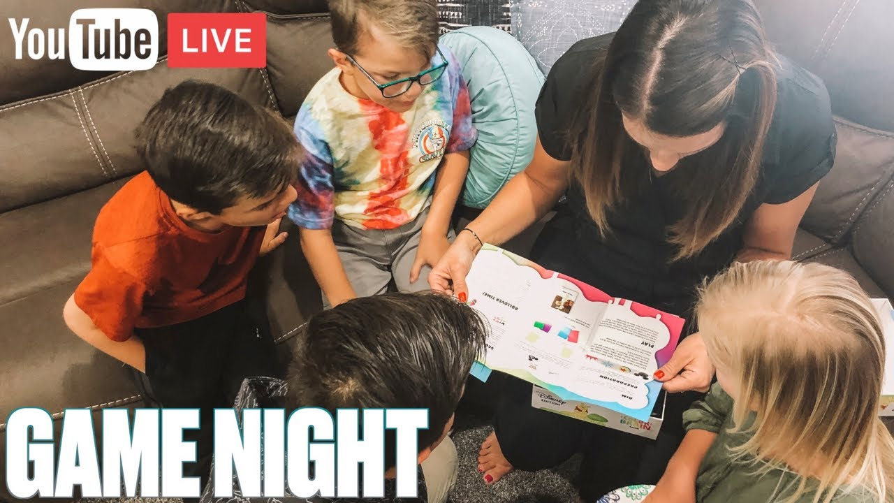 FAMILY GAME NIGHT | DISNEY COLOR BRAIN