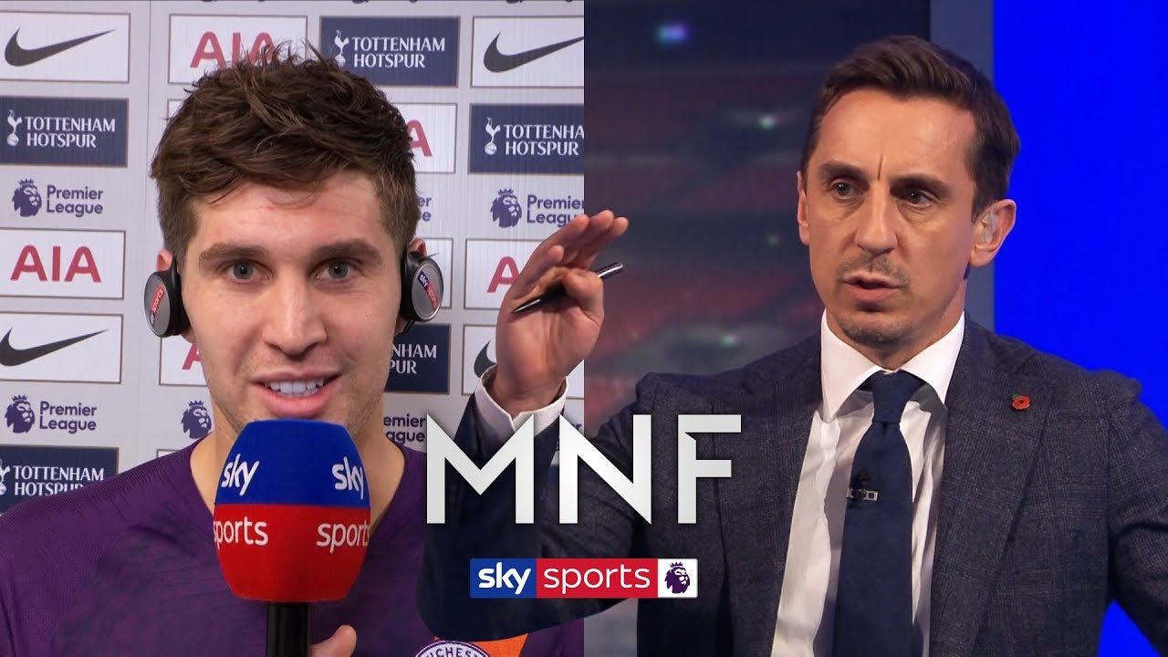 Are Stones and Laporte Man City's best centre-back pair? | Neville and Carragher | MNF