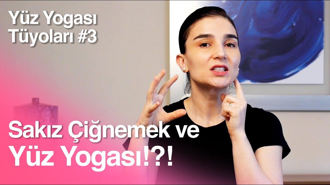 Yüz Yogası Tüyolar #3 - Sakız Çiğnemek Yüz Yogasına Faydalı mı?
