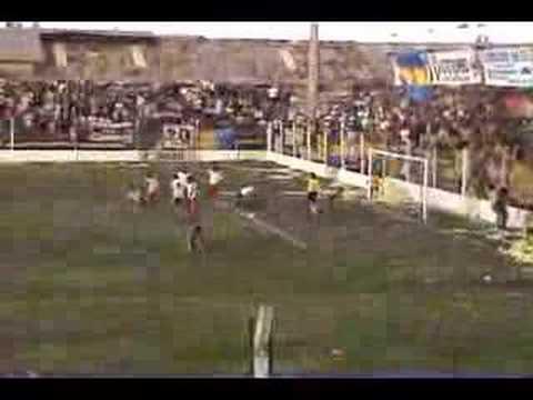 Gol de Huracan de San Rafael a Villa Atuel