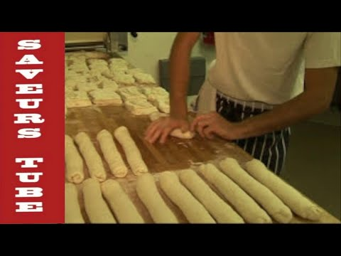 Saveurs, Dartmouth UK (PART 1)  traditional French bakers making French baguettes & bread.