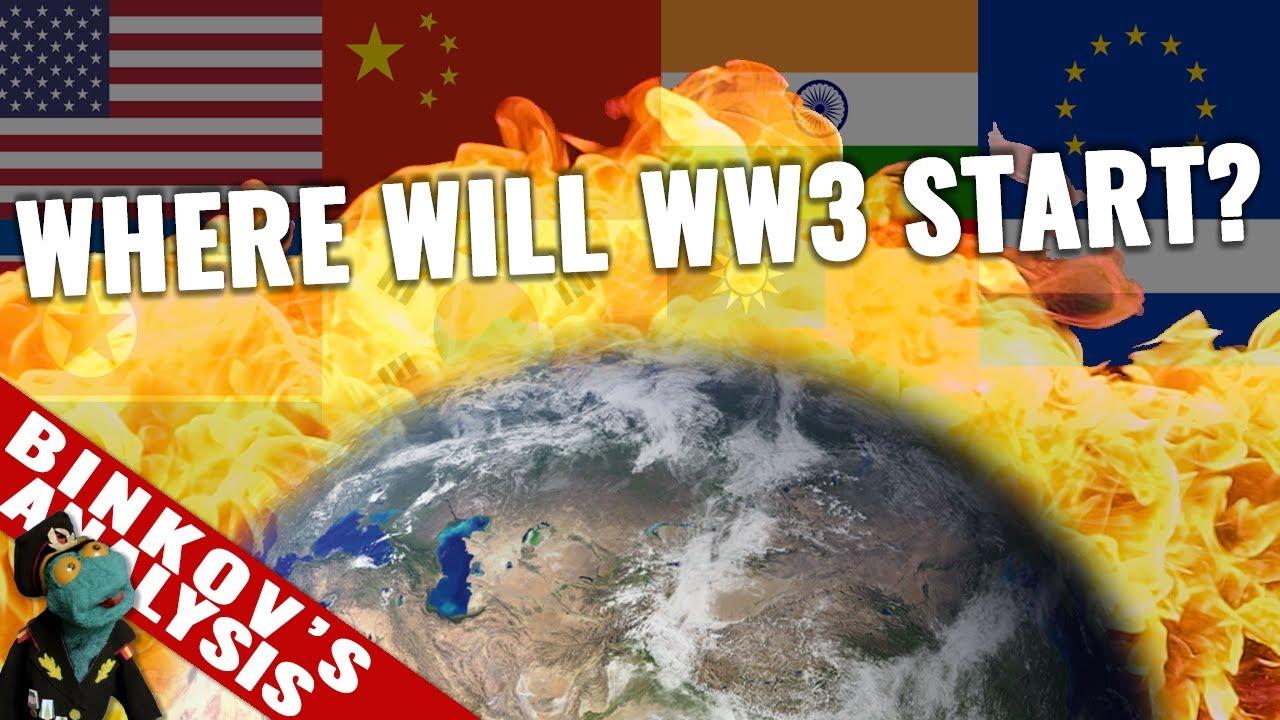 Top hotspots that could spark World War 3