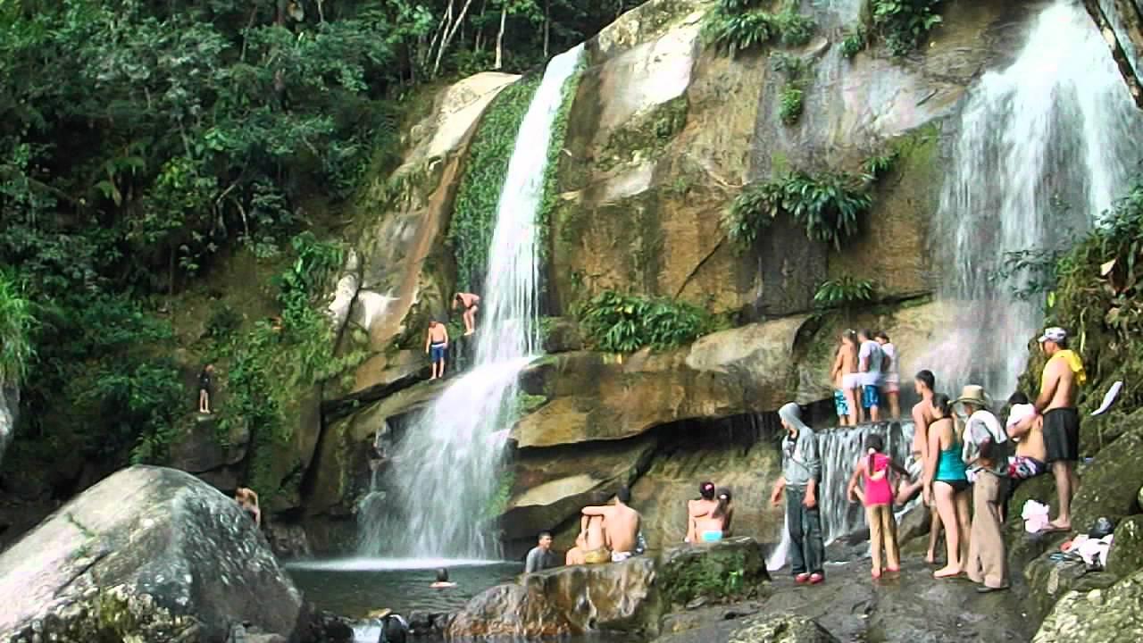 Tirando rio en san carlos antioquia cascada youtube for Camping el jardin tilcara