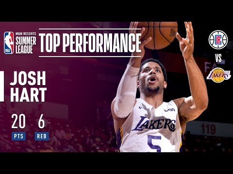 Josh Hart's Dominant Performance Against The Clippers In The 2018 MGM Resorts Summer League