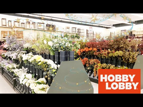 HOBBY LOBBY ⭐ SHOP WITH ME ⭐ LOVE THIS STORE ⭐