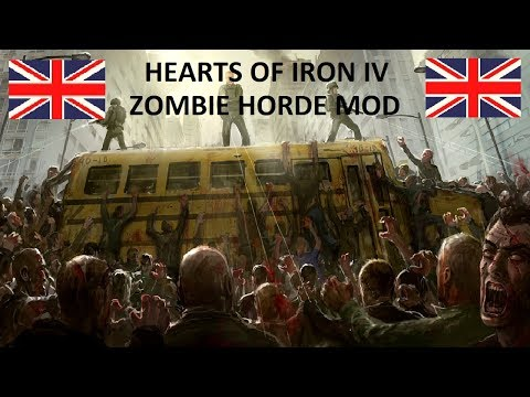 HOI4 Zombie Horde United Kingdom EP3 - Further Advancements into Africa