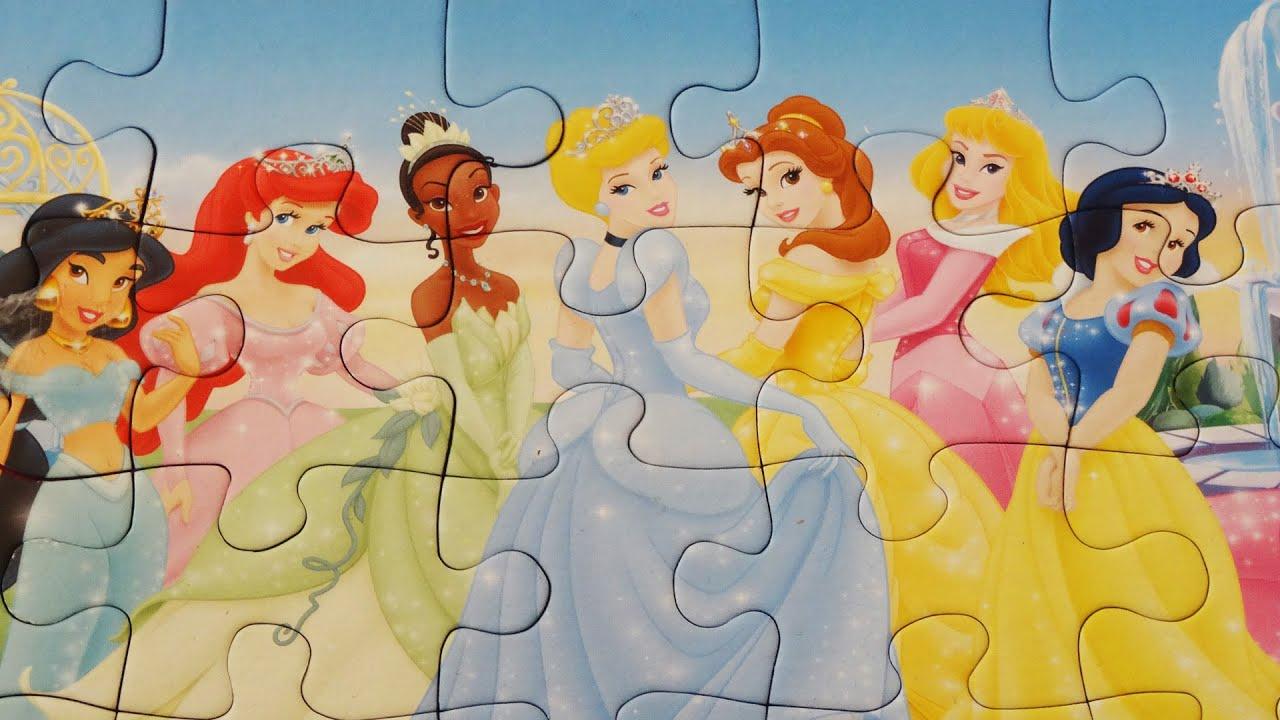 Disney Princess Puzzle Games
