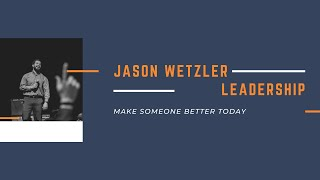 Jason Wetzler Speaking Highlight Reel