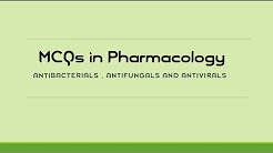 Pharmacology MCQs for MD/MS Entrance Preparation - Multiple Choice Questions