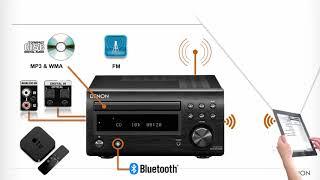 Denon D-M41 - mikro system hi-fi klasy premium